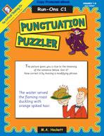 Punctuation Puzzler: Run-Ons C1