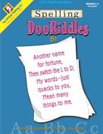Spelling DooRiddles B1