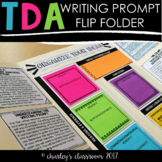 TDA Flip Folder | for TDA Writing Prompt Practice