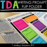 TDA Flip Folder | for TDA Writing Prompt Practice