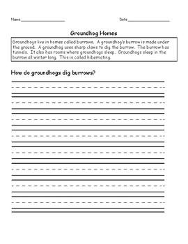 TDA Groundhogs