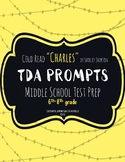 """TDA Practice Prompts for """"Charlie"""" by Shirley Jackson - COLD READ - Writing"""