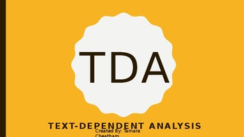 TDA READ and WRITE