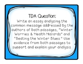 TDA Task Card Activity