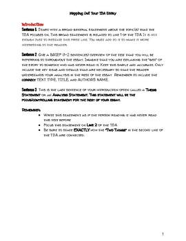 TDA Universal Graphic Organizer