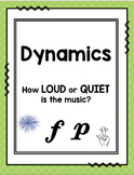 Dynamics Lapbook: How Loud or Quiet is the Music?