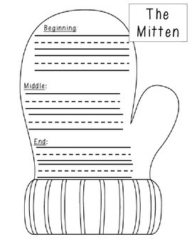 THE MITTEN SEQUENCING ACTIVITY