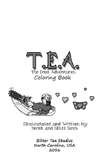 TEA, The Ered Adventures Coloring and Comic Workbook