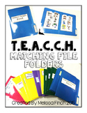 T.E.A.C.C.H. File Folder Matching Bundle- For Children with Special Needs