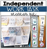 Independent Work Task Starter Kit for Special Education