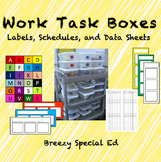 Work Task Schedules, Labels, and Data Sheets