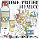 TEACH ESSAY WRITING STRATEGY INTERACTIVE FAN