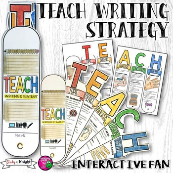 TEACH ESSAY WRITING STRATEGY INTERACTIVE FAN