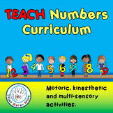 Preschool Pre-K Kindergarten Special Ed Write Numbers Curriculum