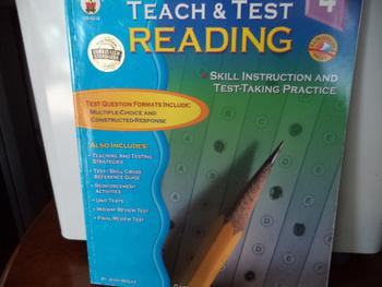 TEACH & TEST READING  ISBN# 0-88724-776-8