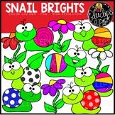 TEACHER APPRECIATION CLIP ART FREEBIE 2018 - Snail Brights {Educlips Clipart}