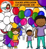 TEACHER APPRECIATION CLIP ART FREEBIE 2018 - #3