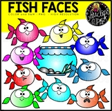 TEACHER APPRECIATION CLIP ART FREEBIE 2018 - Fish Faces