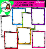 TEACHER APPRECIATION CLIP ART FREEBIE 2018 - #4