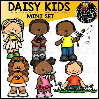 TEACHER APPRECIATION CLIP ART 2018 - Daisy Kids {Educlips Clipart}