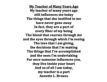 TEACHER APPRECIATION DAY! (MAY 2 - MAY 6)