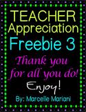 Free Page Border Frames- TEACHER APPRECIATION FREEBIE 3- COMMERCIAL USE