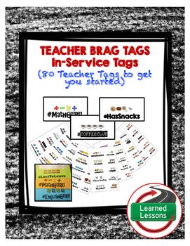 TEACHER BRAG TAGS FOR BACK TO SCHOOL