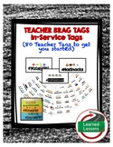 TEACHER BRAG TAGS FOR BACK TO SCHOOL