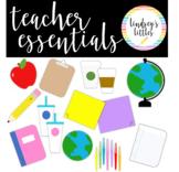 TEACHER ESSENTIALS CLIP ART