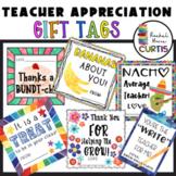 TEACHER GIFT TAG BUNDLE OF 6 TAGS, End of School Year Gift, Teacher Appreciation