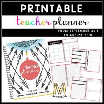 TEACHER PLANNER 18-19