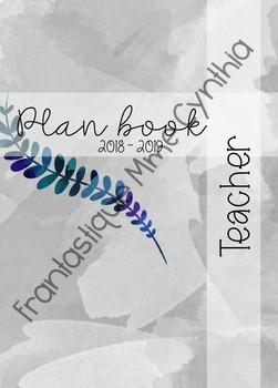 TEACHER PLANNER - PLAN BOOK