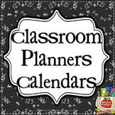 TEACHER - PLANNERS - CALENDARS