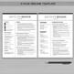 TEACHER RESUME Template For MS Word   + Educator Resume Writing Guide