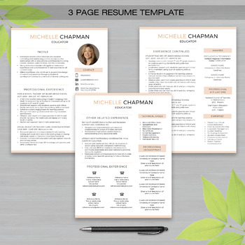 teaching resume writing