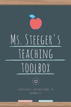 TEACHER TOOLBOX - universal bellringers, closing activities, + MORE