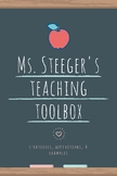 TEACHER TOOLBOX - universal bellringers, closing activitie
