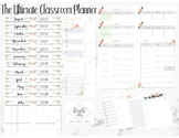 TEACHER and/or SLP MEGA CLASSROOM PLANNER 2017-2018