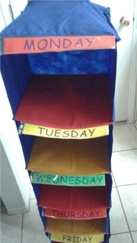 daily activity organizer