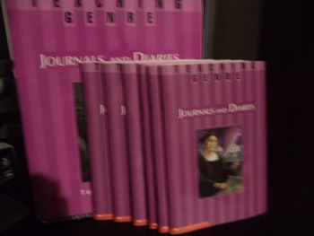 TEACHING GENRE  JOURNALS AND DIARIES   (SET OF 7)
