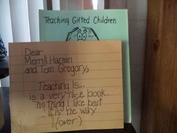 TEACHING GIFTED CHILDREN   (SET OF 2)
