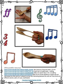 TEACHING KIDS TO PLAY SPOONS And To Create An Accompaniment For A Song