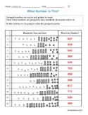 TEACHING & LEARNING SUBTRACTION: 3 Digit Numbers