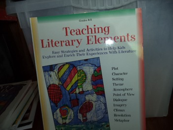TEACHING LITERARY ELEMENTS  ISBN 0-590-20945-0