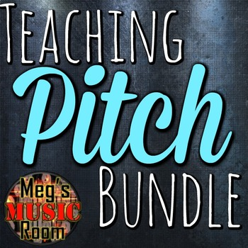 TEACHING PITCH - Game and Activity Bundle for use in PowerPoint