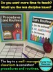 BACK TO SCHOOL CLASSROOM PROCEDURES & ROUTINES