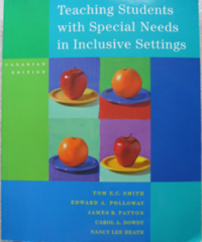TEXTBOOK TEACHING STUDENTS WITH SPECIAL NEEDS IN INCLUSIVE SETTINGS education