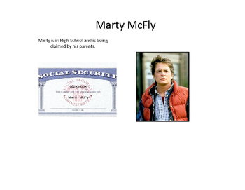 TEACHING TAXES - Martin McFly's Tax Return