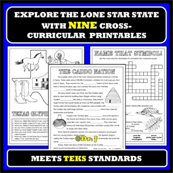 TEACHING TEXAS Activity Pack for Grades K-2