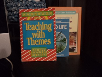 TEACHING WITH THEMES,POND LIFE,ARTS     (set of 3)